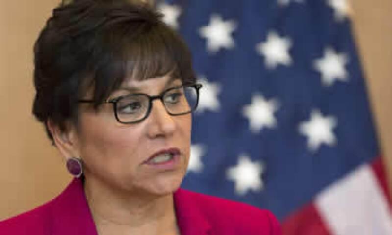 Penny Pritzker declinó hablar sobre un posible intercambio de crudo con México. (Foto: Reuters )