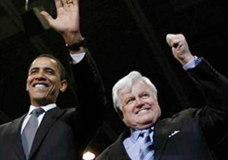 Barack Obama dijo que estaba desconsolado por la muerte del senador Edward Kennedy. (Foto: Reuters)