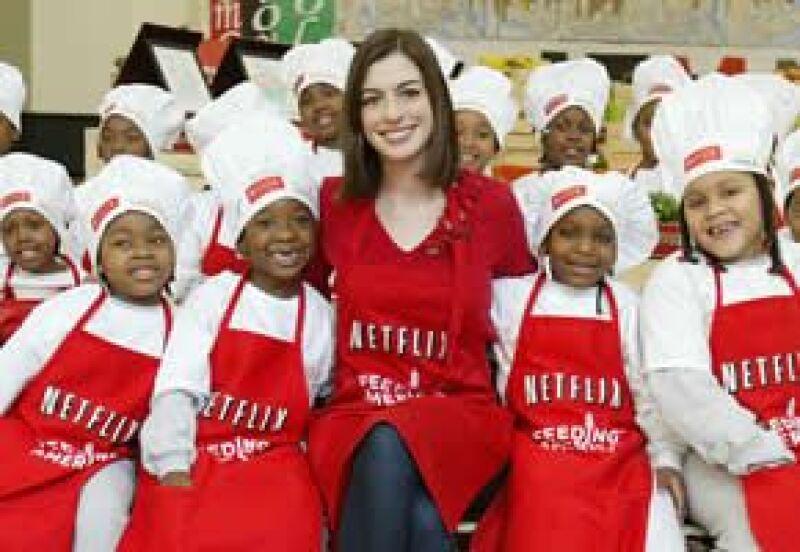 La actriz prestó ayuda en un proyecto que se encarga de proteger a los más necesitados.