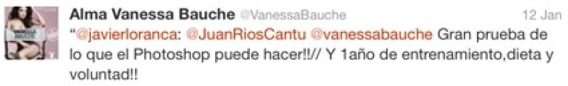Vanessa respondió ante las críticas del Photoshop.