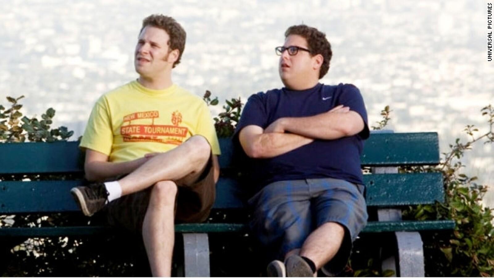 Seth Rogen y Jonah Hill