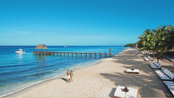 Un vistazo al paraíso. Resort & Spa Secrets Aura Cozumel.