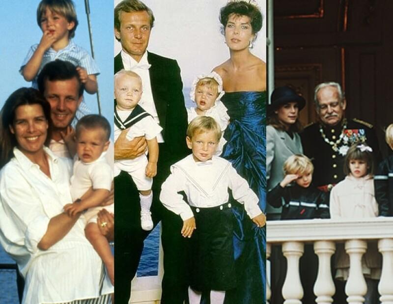 Carlota es la segunda hija del matrimonio entre Carolina de Mónaco y Stefano Casiraghi.