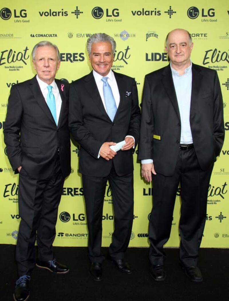 Joaquín López Dóriga recibió el premio en la categoría Migradores.