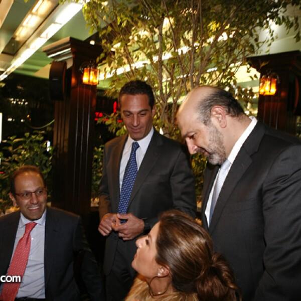 Marco Antonio Slim, Carlos Slim y Michel Kuri