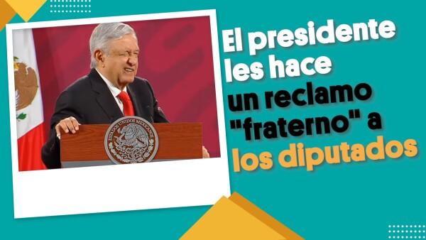 """El presidente les hace un reclamo """"fraterno"""" a los diputados    #EnSegundos"""