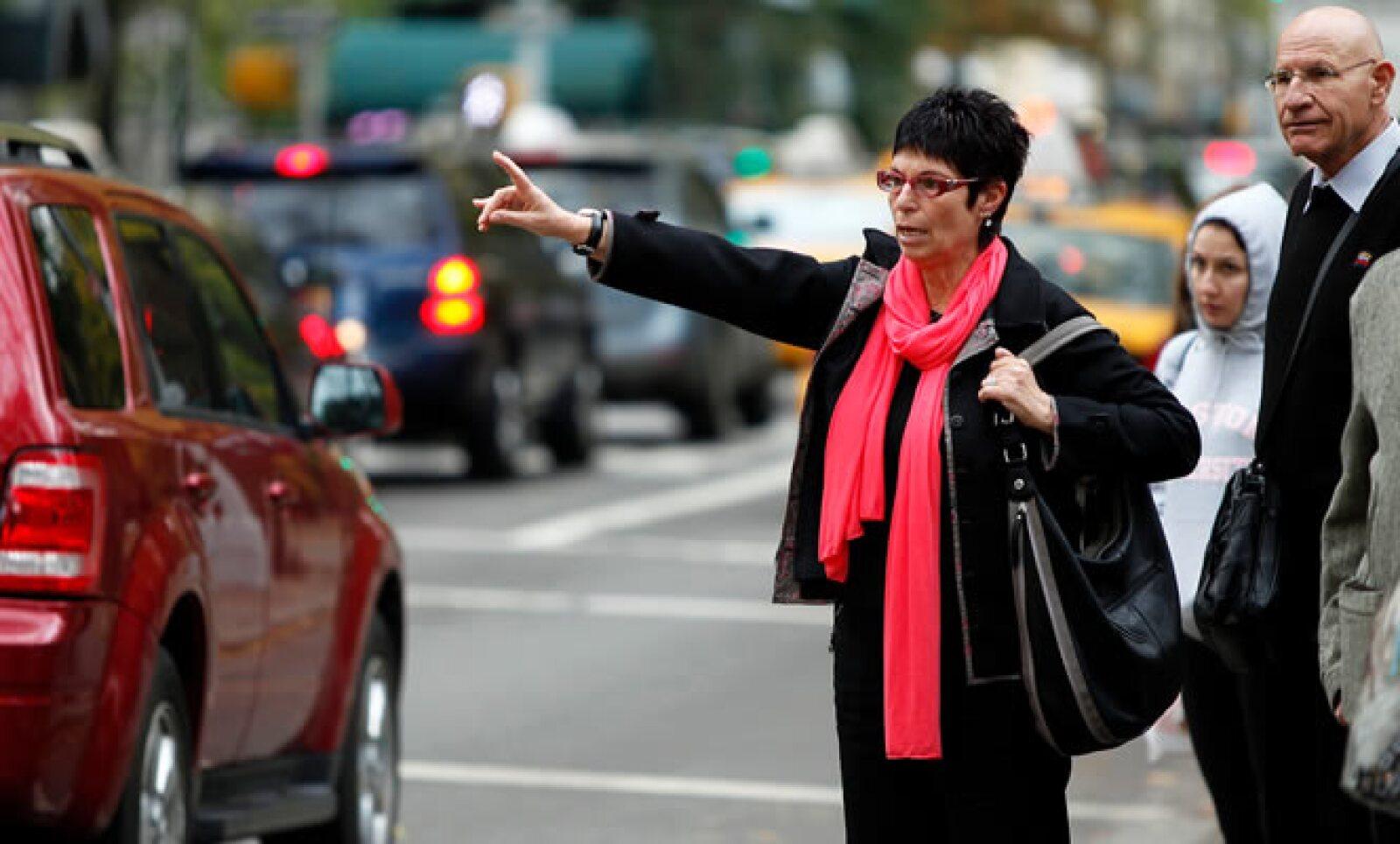 La ciudad modificó las reglas de los taxis para alentar a los conductores a llevar más de un pasajero a la vez.