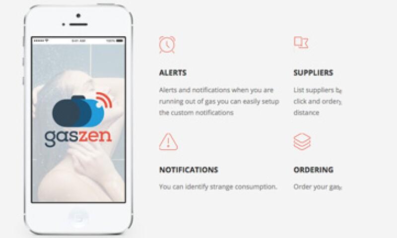 El dispositivo con el que funciona la aplicación será tan fácil de instalar que lo podrá colocar el usuario final en su hogar o negocio.(Foto: Cortesía GasZen )