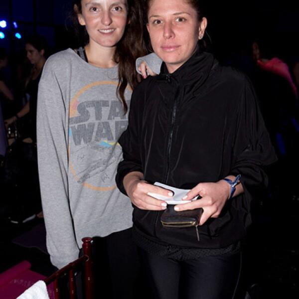 Ana Lorenzana y Lorena Sarabia