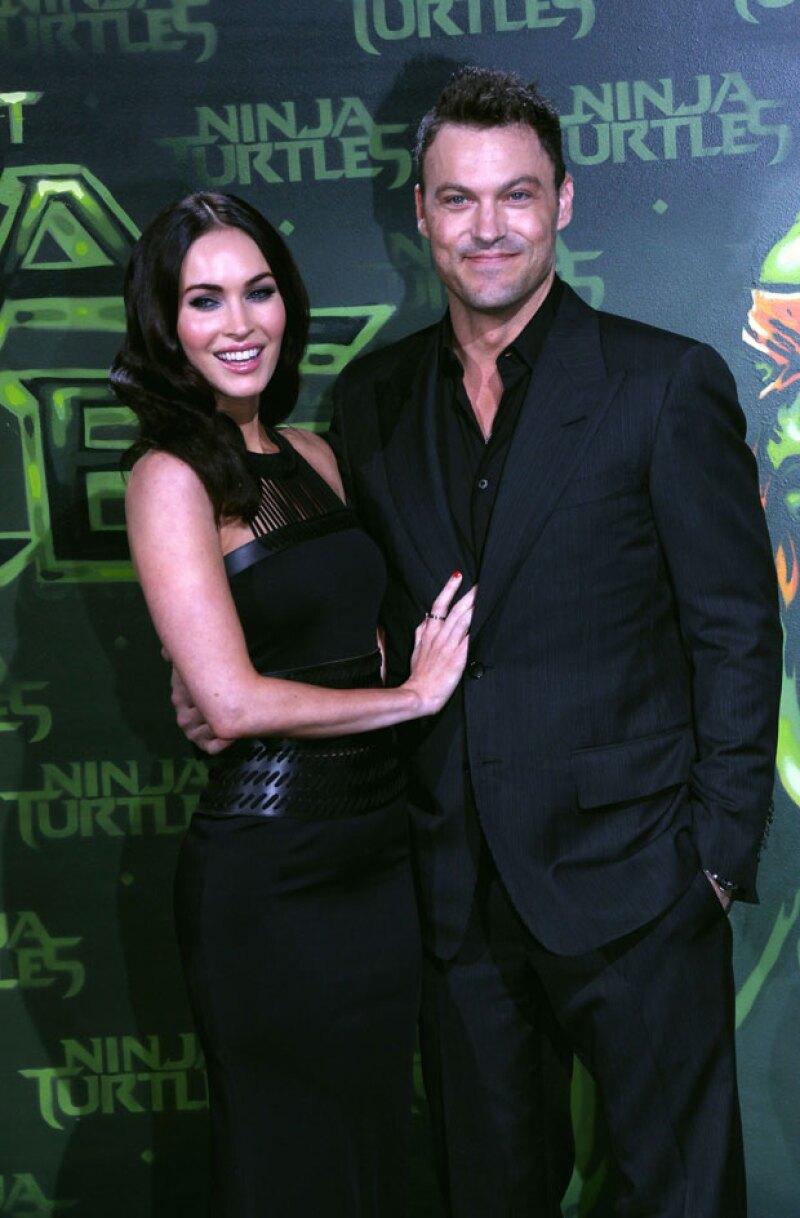 Parece que Megan y Brian Austin, quienes se separaron 10 meses, podrían detener los trámites de su divorcio.