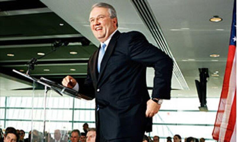 Jack Gerard busca mostrar un rostro amigable de las compañías petroleras.  (Foto: Cortesía Fortune)