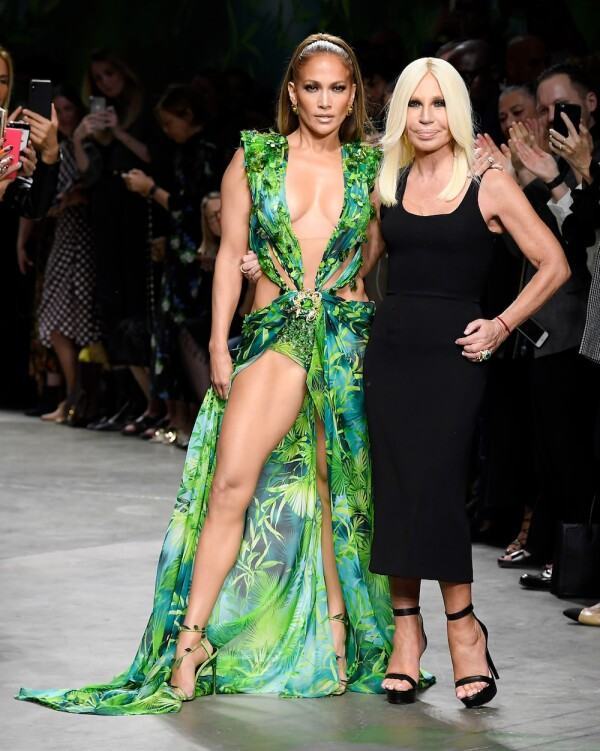 Versace show, Runway, Spring Summer 2020, Milan Fashion Week, Italy - 20 Sep 2019