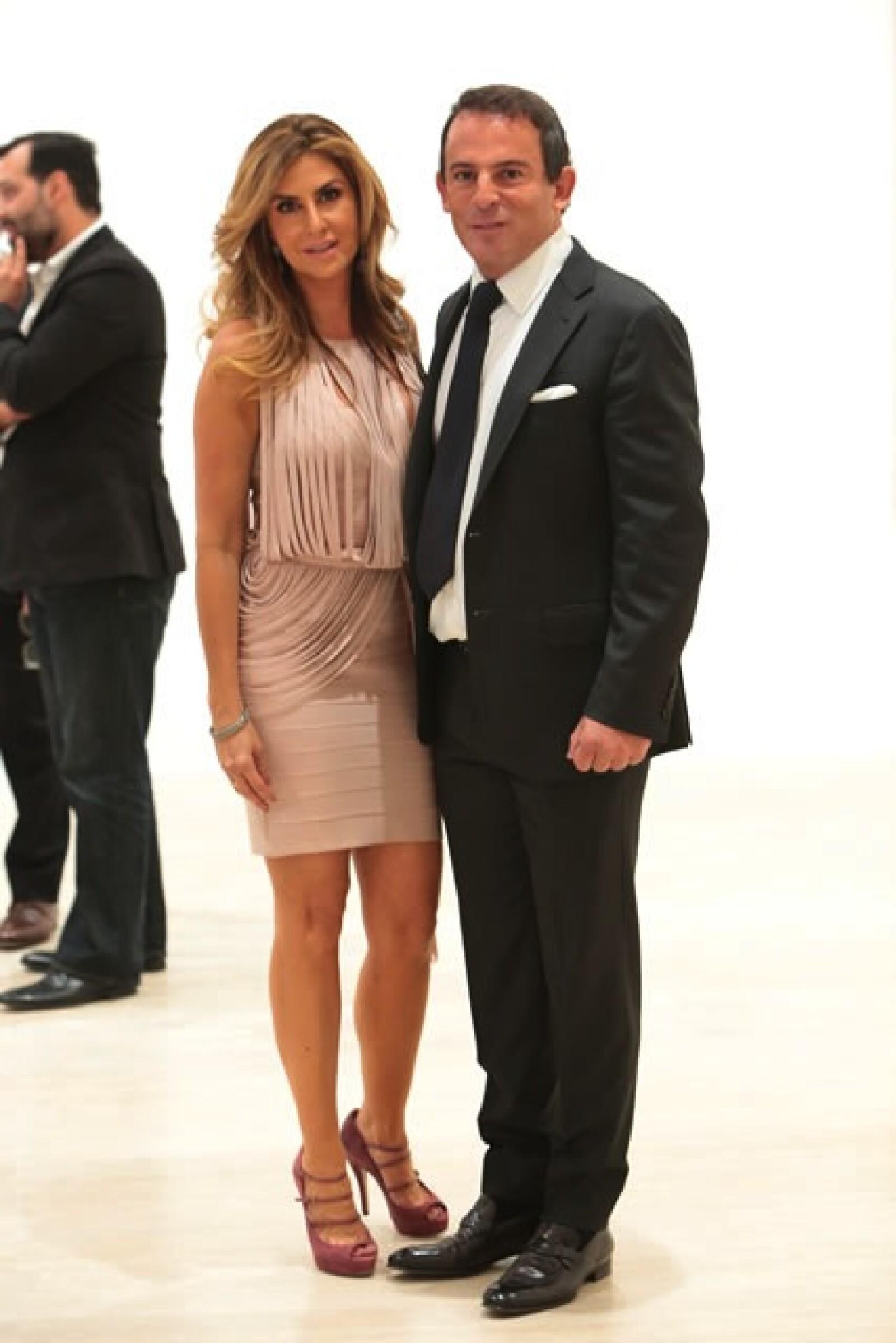Alejandra Funtanet y Eugenio López.