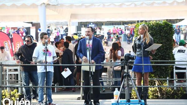 Mauricio Mancera, Mariano Osorio e Inés Sainz