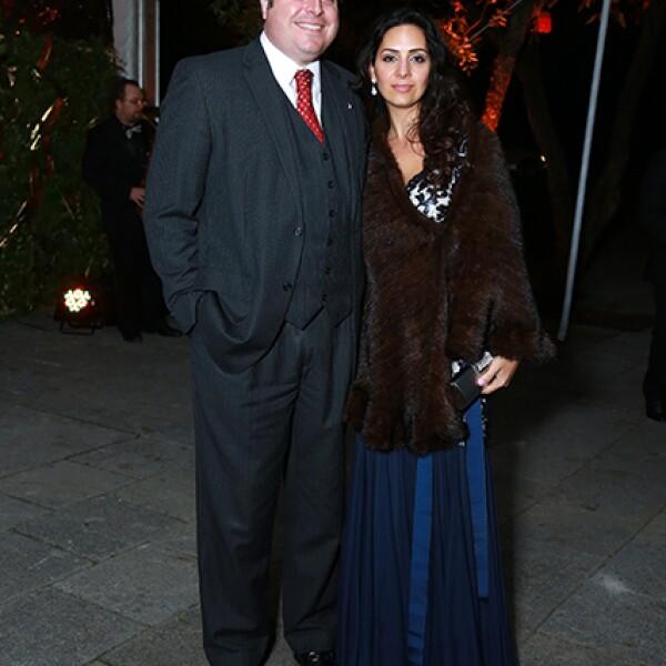 Mariano Morales y Mayra de Morales