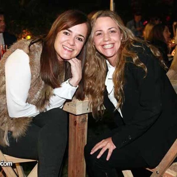 Anabel González y Lisette Slivik