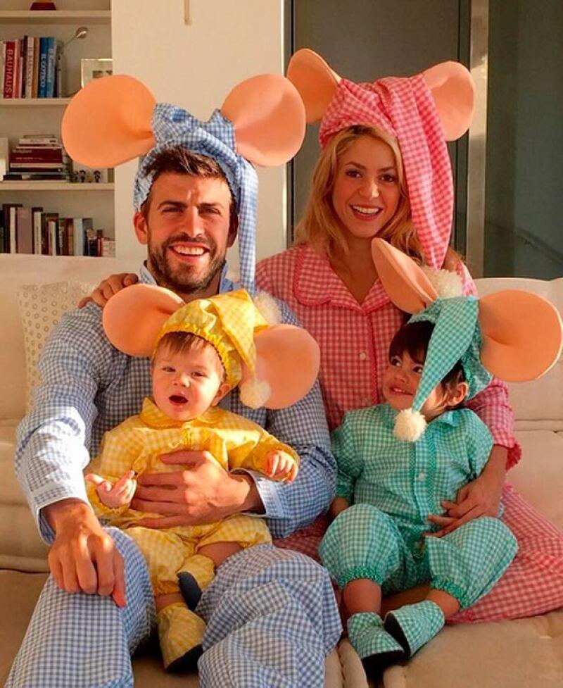 """""""La familia Topo Gigio"""", así describió esta imagen que hasta el momento ha conseguido cientos de miles de likes y comentarios."""