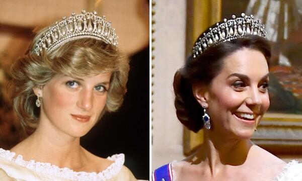 Kate Middleton y Lady Di