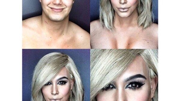 Utilizando sólo maquillaje, este joven filipino puede ir de Kim Kardashian a Julianne Moore y Jennifer Lawrence con unos cuantos brochazos y el resultado es increíble.