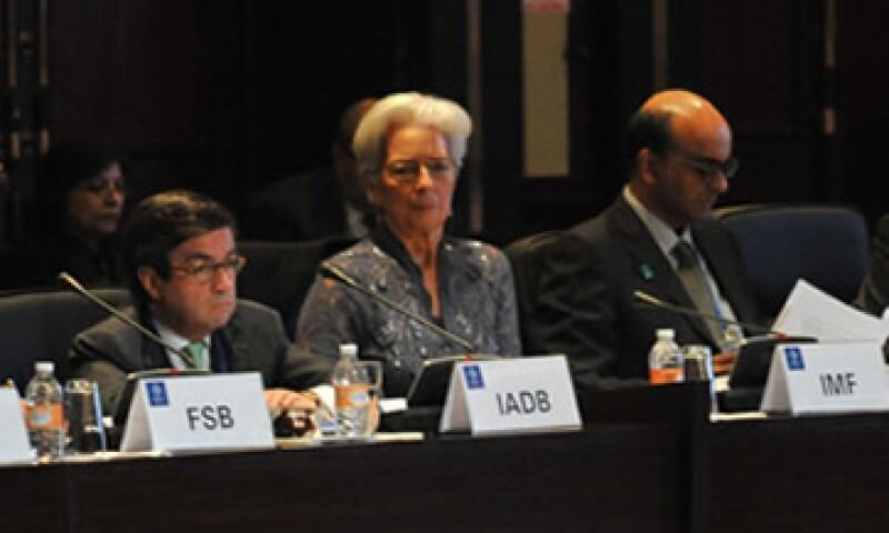 Los planes de consolidación fiscal deben aplicarse al ritmo correcto, dijo Christine Lagarde. (Foto: G20 México)