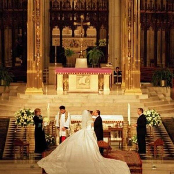 La ceremonia se realizó en la Catedral de San Patricio.