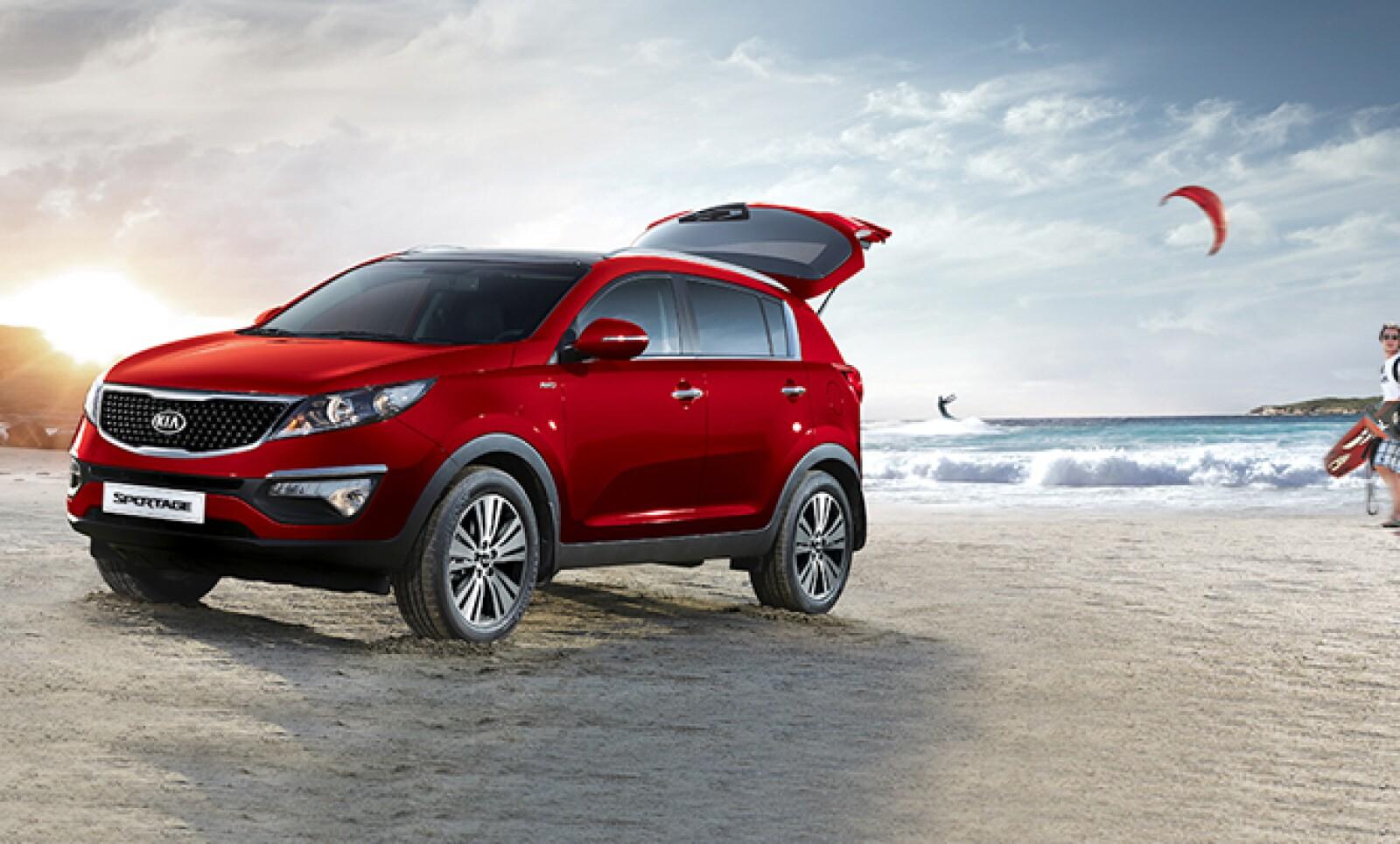 Sportage es un modelo deportivo con un diseño atrevido y dinámico, indica KIa en su sitio de Internet.