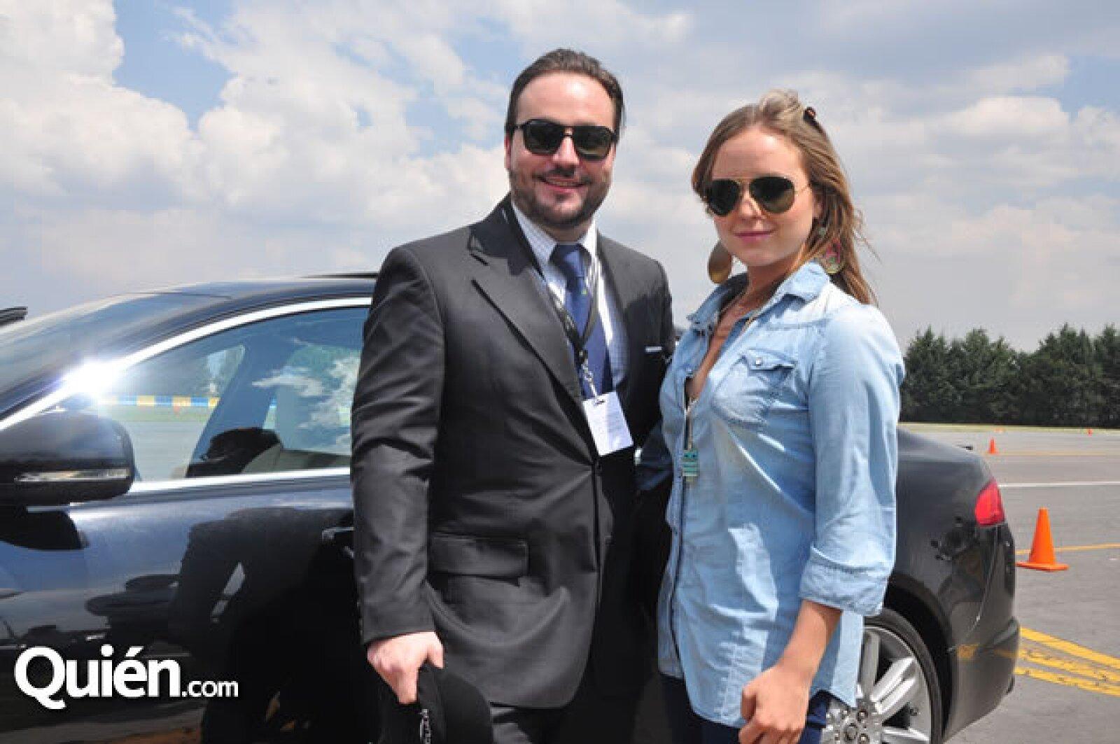 Adriana Gallego y Erick Hernández
