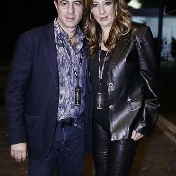Juan Manuel y Gabriela de la Vega