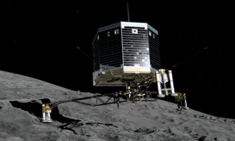 'Philae' se posó el 12 de noviembre de 2014 en el cometa, un hito histórico. (Foto: Getty Images)
