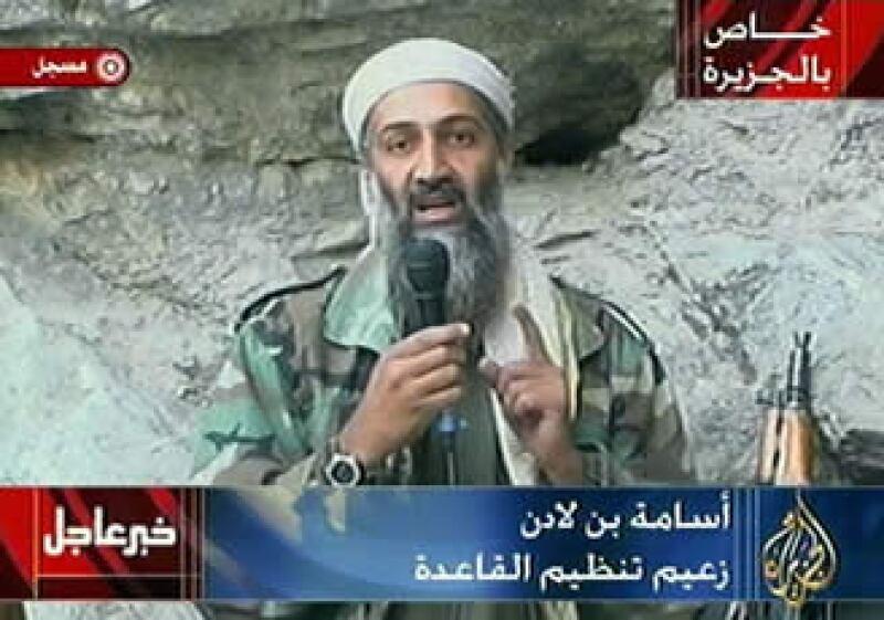 Osama Bin Laden era acusado de ser la mente detrás de los ataques terroristas del 11 de septiembre de 2011. (Foto: AP)