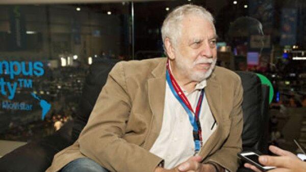 El creador del Atari se enfoca en desarrollar videojuegos con fines pedagógicos. (Foto: Francisco Rubio)
