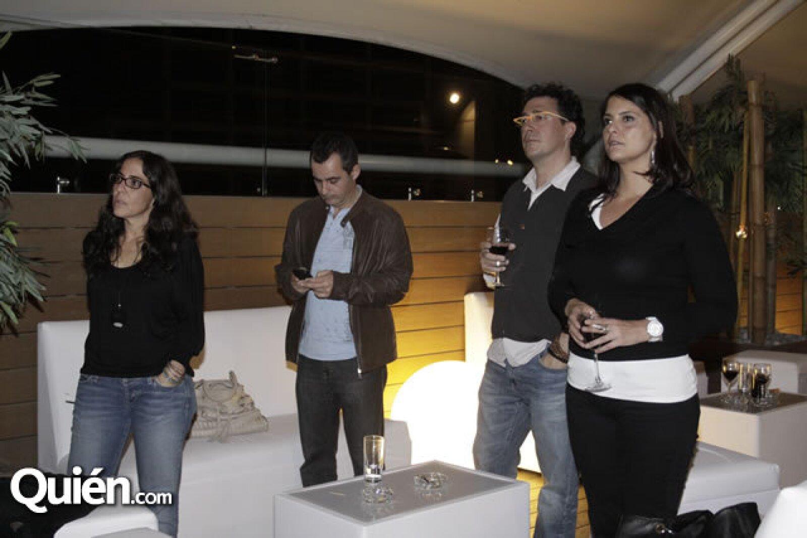Adriana Rivera Jáuregui, Pablo Lara, Joan Peypoch y Viviana Salázar