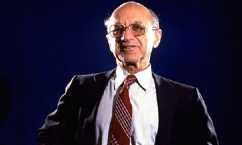 Milton Friedman, premio Nobel de Economía, murió apenas en 2006. (Foto: AP)