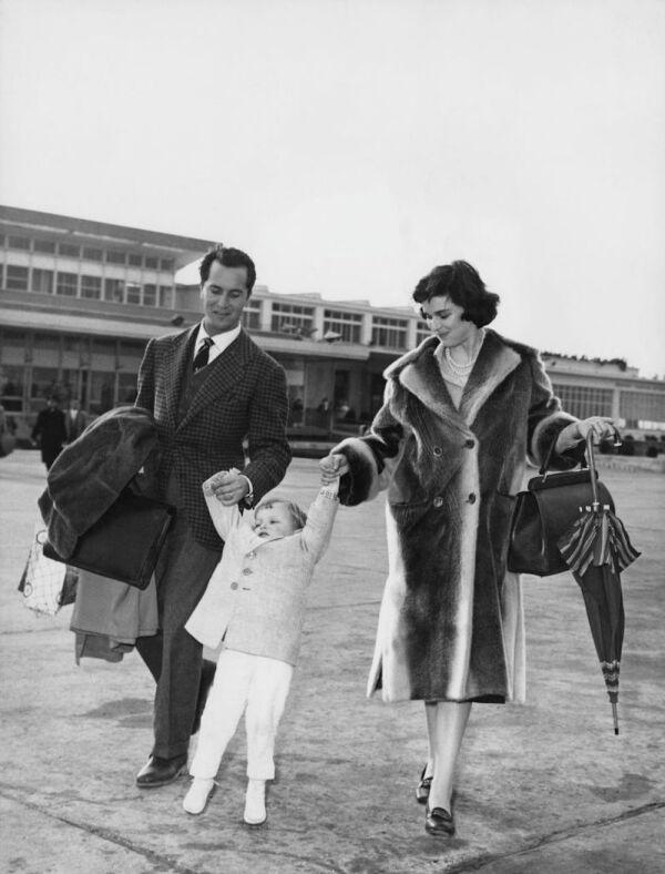 Lucia Bosè And Family