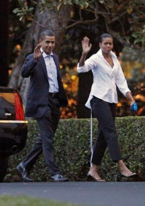 Los Obama captaron la atención de varios medios de comunicación.