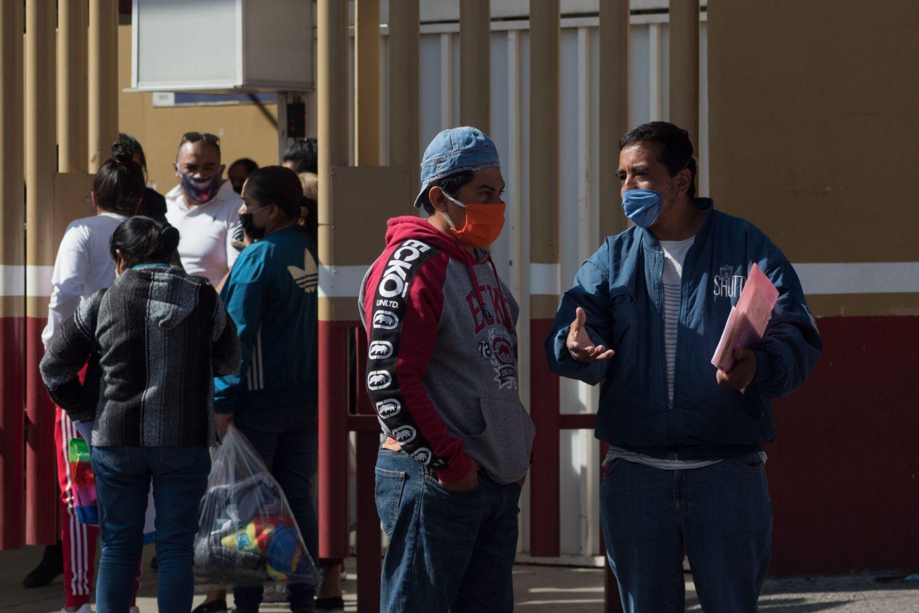 Personas en hospital