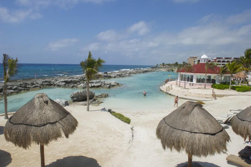 Otra de las vistas privilegiadas de la Riviera Maya desde las instalaciones del hotel.