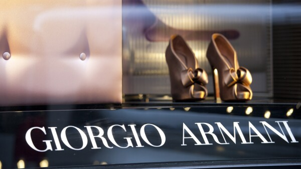 Giorgio Armani display window
