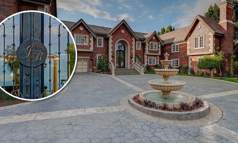 La casa de Jenni Rivera fue puesta en venta hace apenas unos meses y fue adquirida por el cantante Nick Lachey.