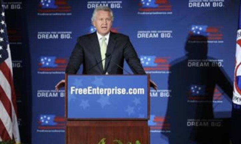 """""""Las grandes compañías como GE son responsables de dónde están nuestros puestos de trabajo"""", dijo Immelt. (Foto: Reuters)"""