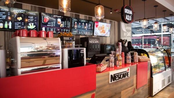 Cafeteria nescafe