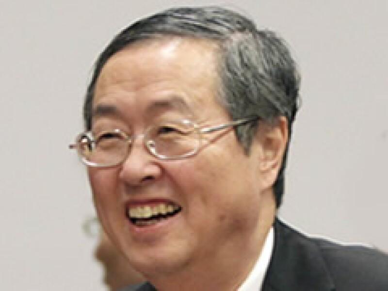El gobernador del Banco Popular de China, Zhou Xiaochuan, en la reunión del FMI. (Foto: Reuters)