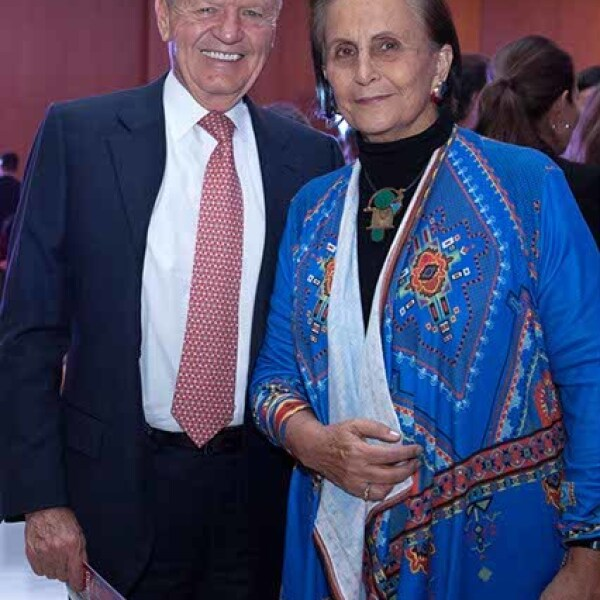 Roberto Hernández y María Angélica Luna