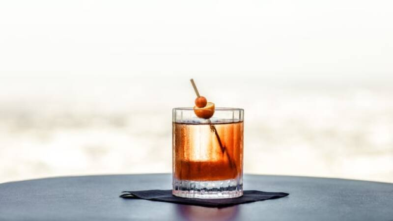 Kumquat Old Fashioned