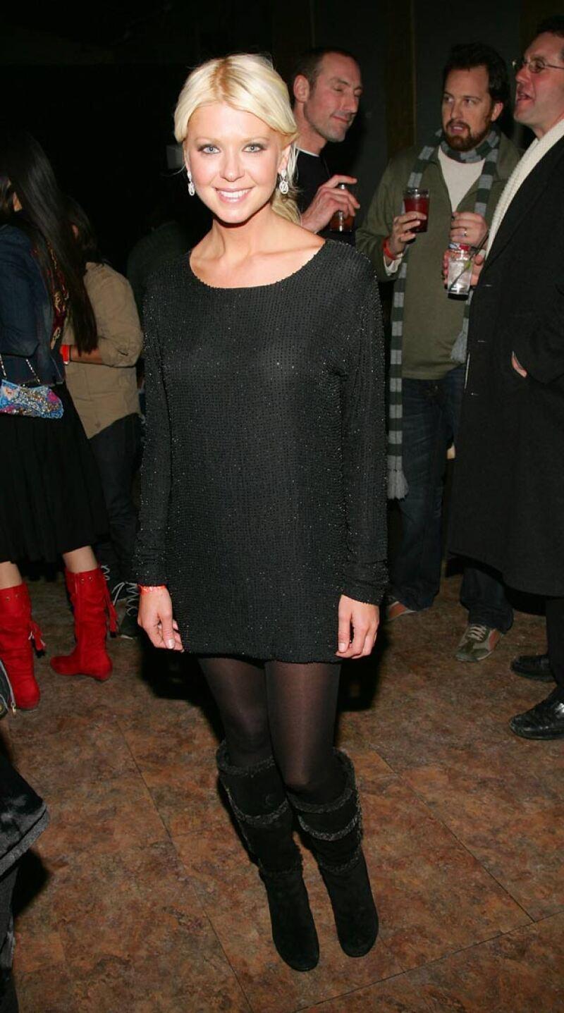 Tara tenía una figura mucho más saludable hace algunos años, cuando inició su carrera.