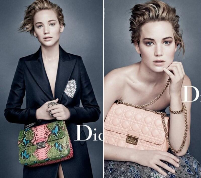 """Las actrices representan la firma con su belleza y sencillez, Jennifer en la moda y Natalie como imagen de las exclusivas fragancias. Ambas son """"Miss Dior""""."""