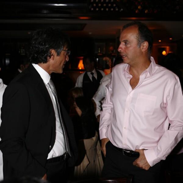 Alfonso Salem e Ignacio Arreola