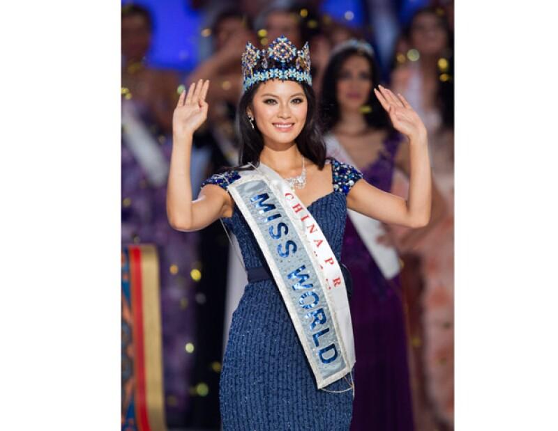 Yu Wenxia de 23 años es la ahora Miss Mundo. El concurso se llevó a cabo en la ciudad de Ordos. En cuanto a la mexicana Mariana Berumen quedó entre las finalistas.