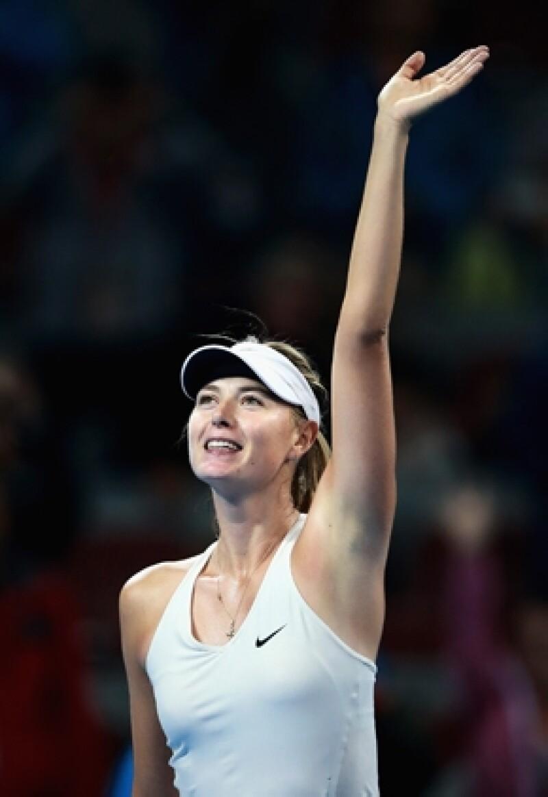Maria Sharapova también estará en el torneo.