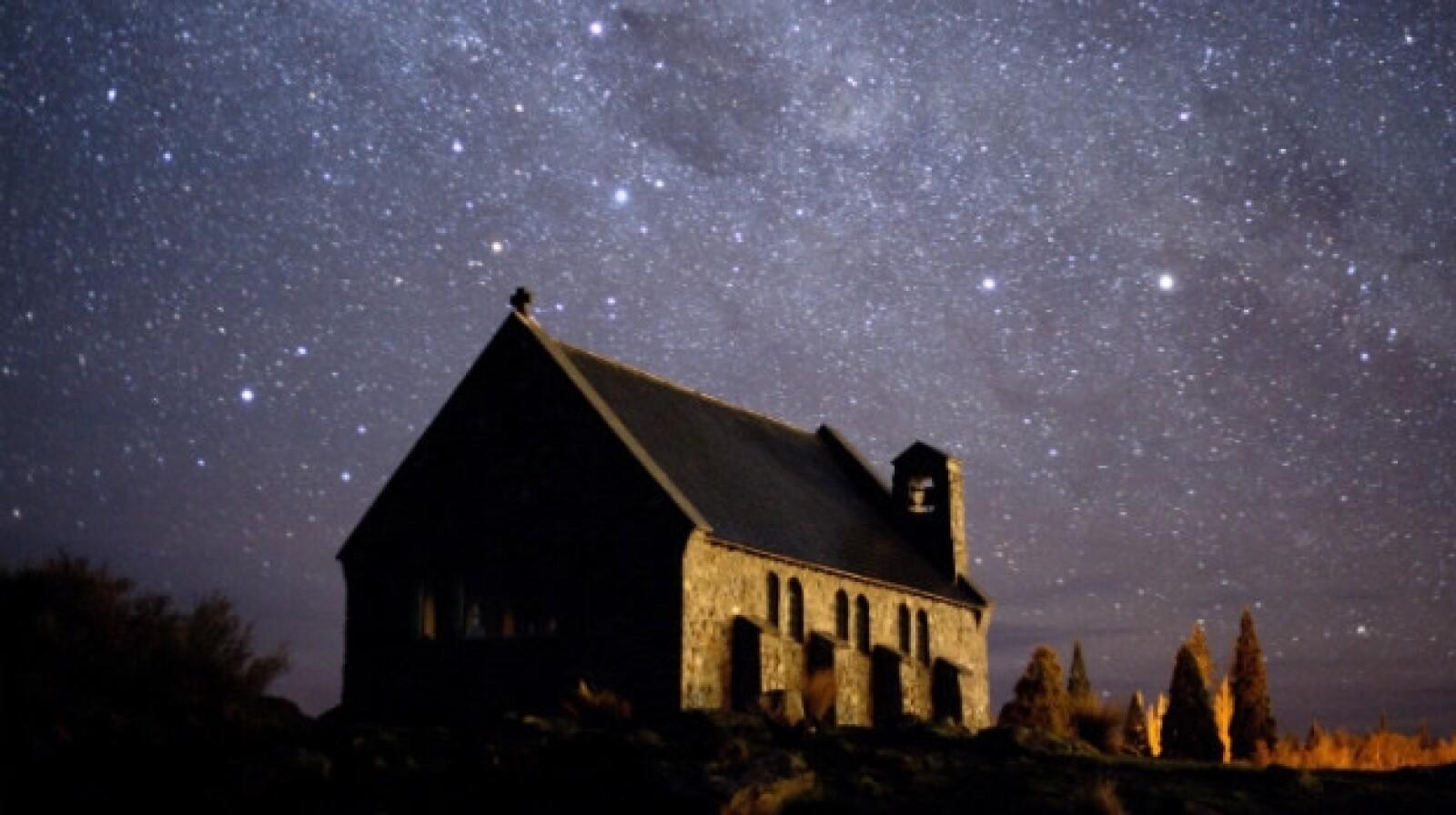 Cielo lleno de estrellas, Nueva Zelanda